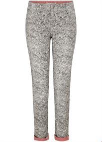 Tramontana broeken d04-94-101 in het Zwart / Wit