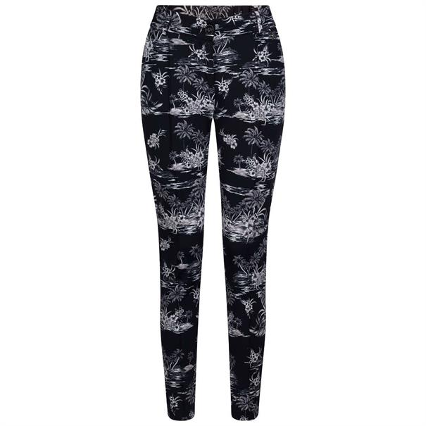 Tramontana broeken q07-91-101 in het Zwart / Wit