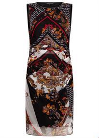 Tramontana jurk c01-92-502 in het Zwart / Wit