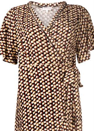 Tramontana jurk C01-99-502 in het Multicolor