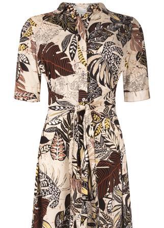 Tramontana jurk C02-99-502 in het Multicolor