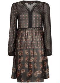 Tramontana jurk C06-96-501 in het Zwart