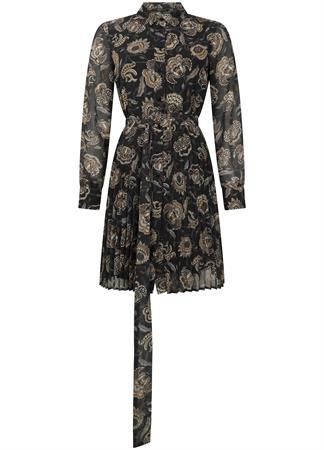 Tramontana jurk C09-02-501 in het Zwart / Wit