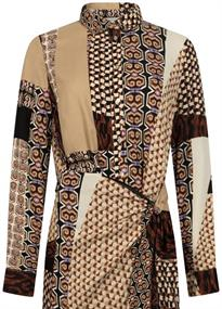 Tramontana jurk C09-98-502 in het Bordeaux