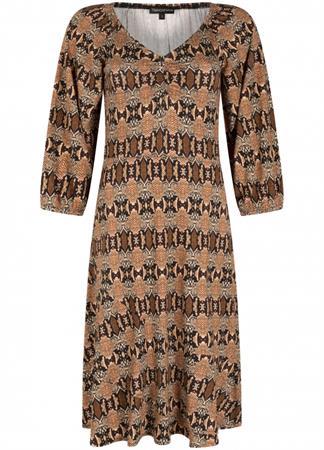 Tramontana jurk D01-01-501 in het Rood