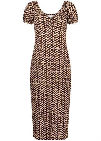 Tramontana jurk D01-99-501 in het Geel