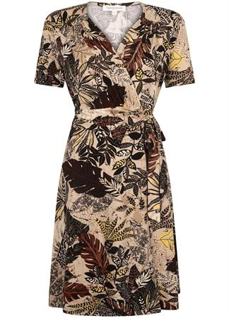 Tramontana jurk D02-99-501 in het Multicolor