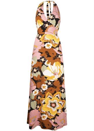 Tramontana jurk D07-99-501 in het Zwart / Wit