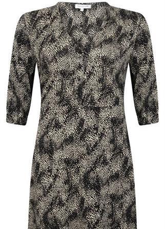 Tramontana jurk D10-98-501 in het Zwart