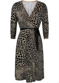 Tramontana jurk d12-94-502 in het Multicolor