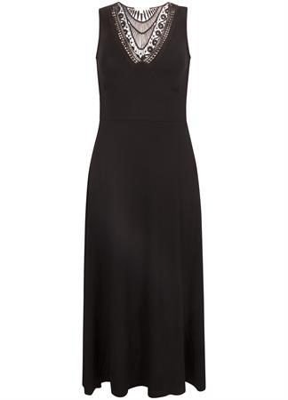 Tramontana jurk D15-99-501 in het Zwart