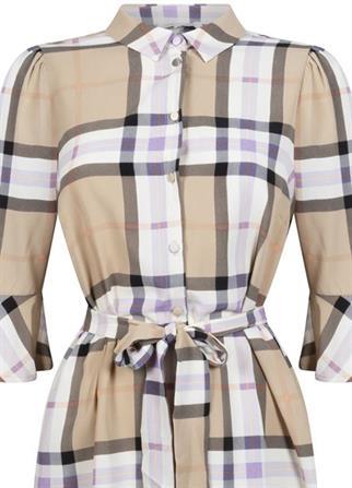 Tramontana jurk E01-98-502 in het Multicolor