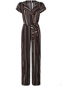 Tramontana jurk e04-94-102 in het Zwart / Wit