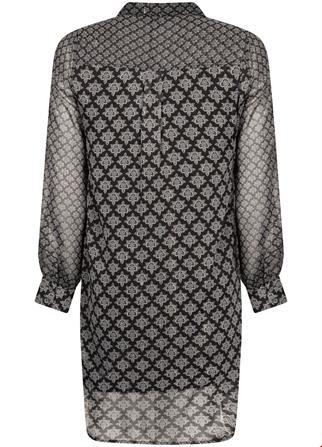 Tramontana jurk E05-96-501 in het Zwart