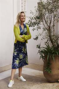 Tramontana jurk e06-94-501 in het Multicolor