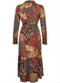 Tramontana jurk E06-96-501 in het Bruin