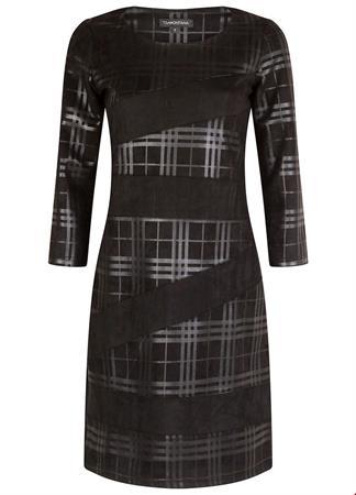 Tramontana jurk q03-93-502 in het Zwart