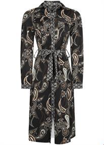 Tramontana jurk Q03-96-501 in het Zwart