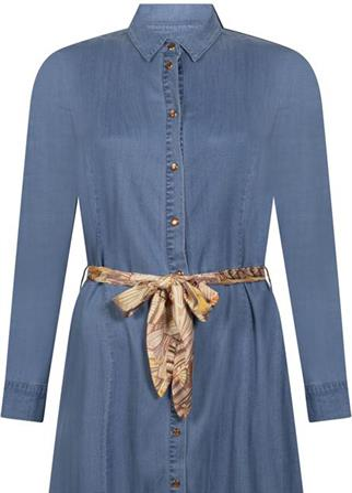 Tramontana jurk Q06-98-501 in het Licht Blauw