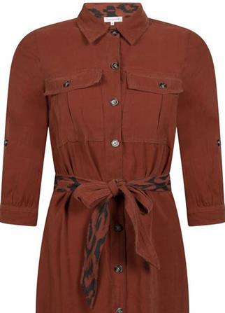 Tramontana jurk Q15-98-501 in het Camel