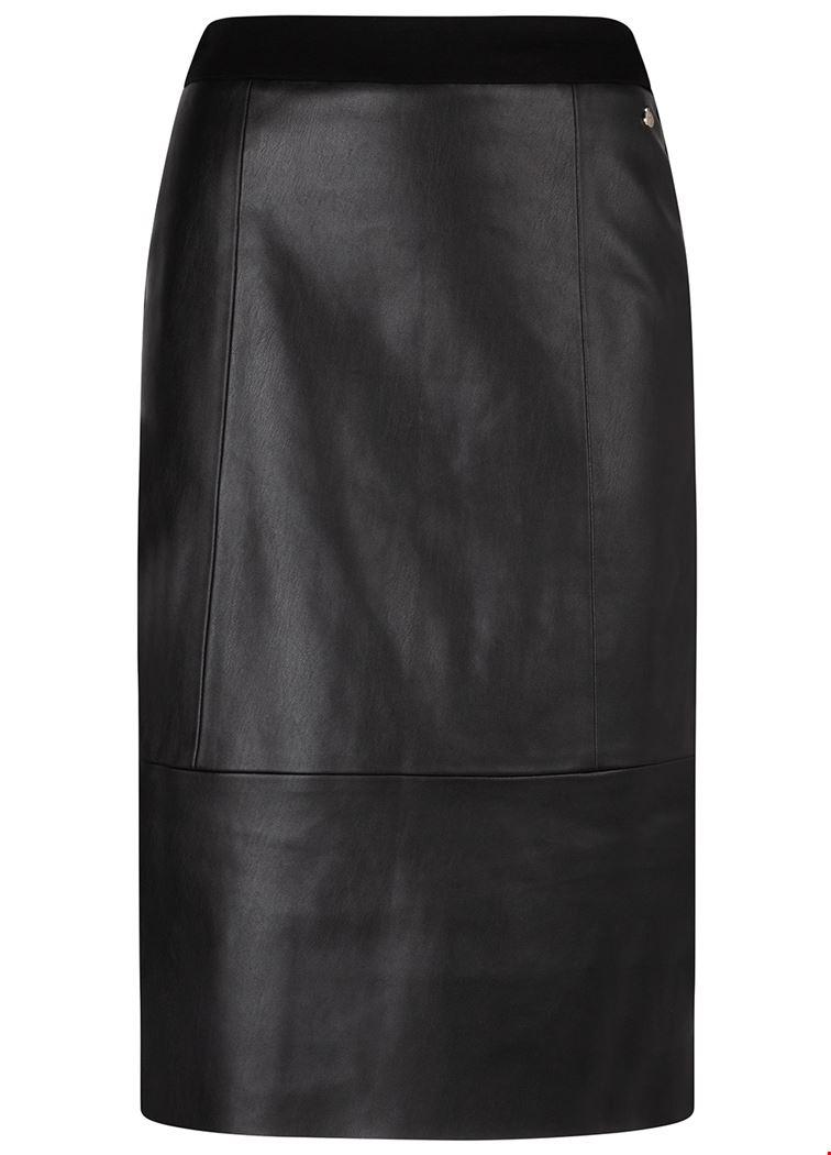 Smit Mode Tramontana rok q10 92 201 in het Zwart