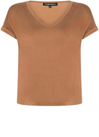 Tramontana t-shirts c11-01-402 in het Donker Bruin