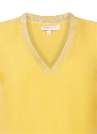 Tramontana t-shirts C25-99-302 in het Geel