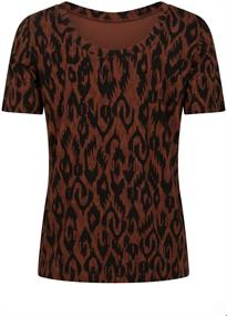 Tramontana t-shirts D06-98-402 in het Bordeaux
