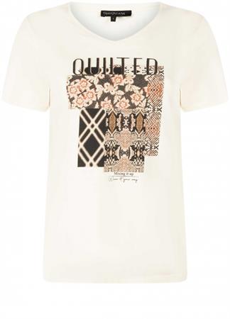 Tramontana t-shirts d10-01-401 in het Beige