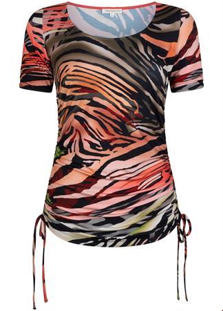 Tramontana t-shirts d10-95-401 in het Zwart / Wit