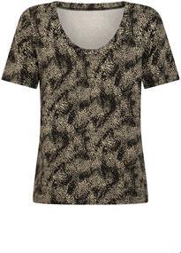 Tramontana t-shirts D10-98-402 in het Zwart