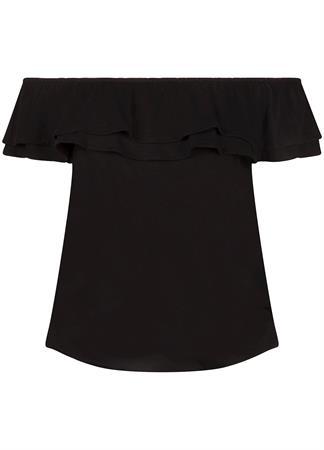 Tramontana t-shirts D13-99-401 in het Zwart