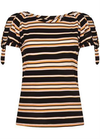 Tramontana t-shirts D16-99-401 in het Zwart / Wit