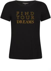 Tramontana t-shirts D20-96-403 in het Zwart
