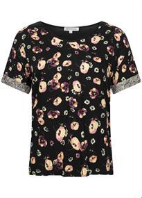 Tramontana t-shirts e03-94-302 in het Zwart / Wit