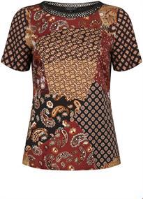Tramontana t-shirts E06-96-301 in het Bruin