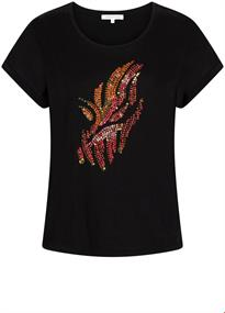 Tramontana t-shirts i01-95-401 in het Zwart