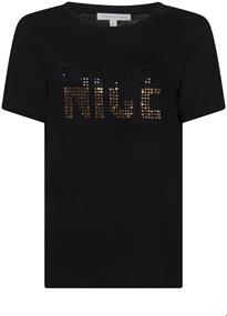 Tramontana t-shirts I01-98-401 in het Zwart