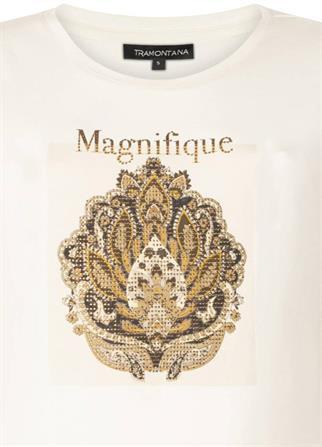 Tramontana t-shirts i02-01-401 in het Beige