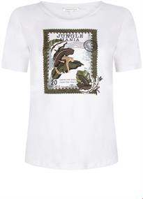 Tramontana t-shirts i02-95-402 in het Wit