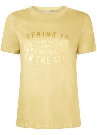 Tramontana t-shirts I02-99-401 in het Geel