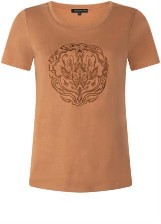 Tramontana t-shirts i03-01-401 in het Donker Bruin