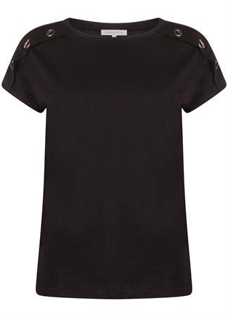 Tramontana t-shirts I04-99-401 in het Zwart