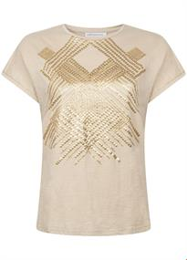 Tramontana t-shirts i06-94-401 in het Beige