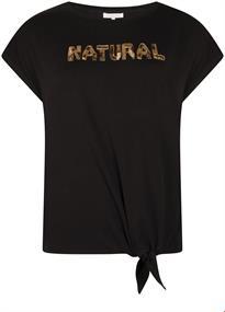 Tramontana t-shirts i07-95-401 in het Zwart