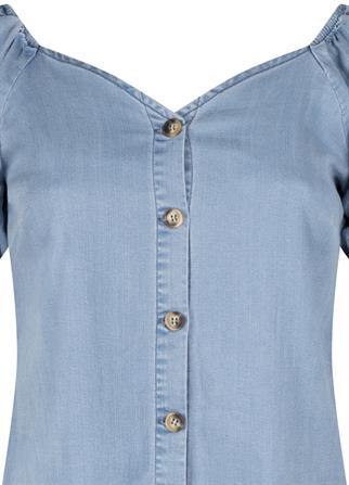Tramontana t-shirts Q04-99-301 in het Denim