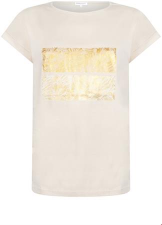 Tramontana t-shirts Q26-98-403 in het Ecru