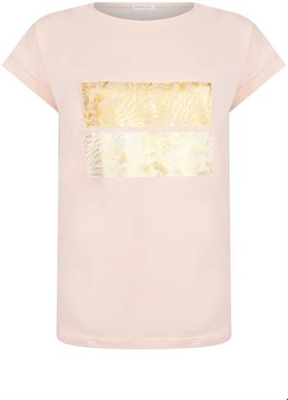 Tramontana t-shirts Q26-98-403 in het Zacht roze