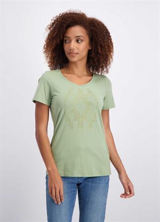 Tramontana t-shirts Q30-01-402 in het Kaky