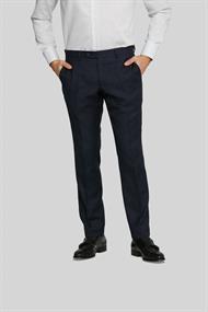 Van Gils broeken Tailored Fit 1420VG00107 in het Donker Blauw